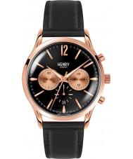 Henry London HL41-CS-0042 Mens rich schwarz Chronograph