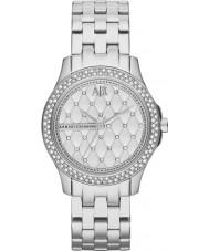 Armani Exchange AX5215 Damen Silber Stahlarmband Weisekleiduhr