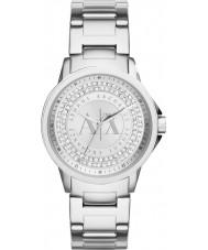 Armani Exchange AX4320 Damen städtischen Silber Stein Set Uhr