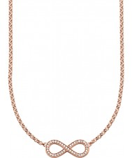 Thomas Sabo KE1312-416-14 Damen 18 Karat Roségold infinity Halskette vergoldet