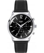 Henry London HL41-CS-0023 Mens Edgware schwarz Chronograph