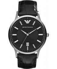 Emporio Armani AR2411 Mens klassische schwarze Uhr