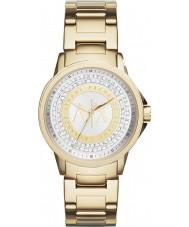 Armani Exchange AX4321 Damen städtischen vergoldet Stein gemeißelt Uhr