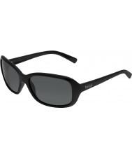Bolle Molly glänzend schwarz polarisierten Sonnenbrillen tns