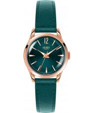 Henry London HL25-S-0128 Damen stratford Stockente grün Uhr