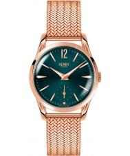 Henry London HL30-UM-0130 Damen stratford Stockente grün Roségold Uhr