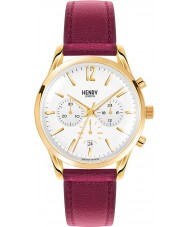 Henry London HL39-CS-0070 Damen Holborn Weißburgunder Chronograph
