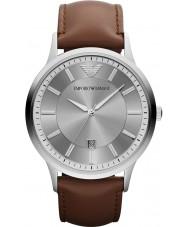 Emporio Armani AR2463 Mens klassische grau braun Uhr