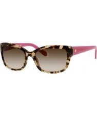 Kate Spade New York Damen johanna-s ryp y6 havanna rosa Sonnenbrille