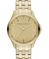 Armani Exchange AX2167 Herren Kleid vergoldet Armband-Uhr