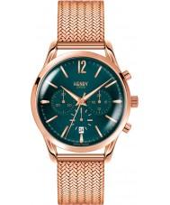 Henry London HL39-CM-0142 Damen stratford Stockente grün Rotgold Chronograph