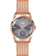 Henry London HL30-UM-0116 Damen finchley grau stieg goldene Uhr