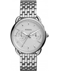 Fossil ES3712 Damen Schneider Silber Stahl Armbanduhr