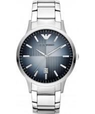 Emporio Armani AR2472 Mens klassische silberne Stahl-Uhr