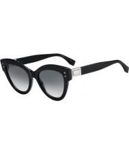Fendi Damen ff0266 s 807 9o 52 Peekaboo Sonnenbrille