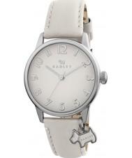 Radley RY2247 Damen überdimensionalen Hundeanhänger mit Sahne Lederband Uhr