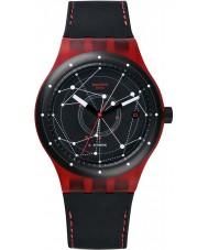 Swatch SUTR400 Sistem51 - sistem rot Automatik-Uhr