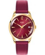 Henry London HL39-S-0066 Damen Holborn weinrot Uhr
