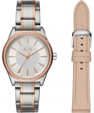 Armani Exchange AX7103 Damen Kleid Uhr Geschenkset