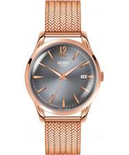 Henry London HL39-M-0118 Damen finchley grau stieg goldene Uhr