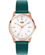 Henry London HL39-S-0132 Damen stratford weiß Stockente grün Uhr