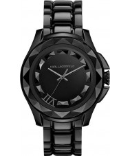 Karl Lagerfeld KL1001 Karl 7 schwarz Stahl-Armbanduhr