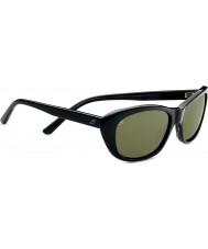 Serengeti Bagheria schwarz grau Schildpatt polarisierte Sonnenbrille 555nm