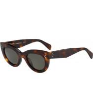Celine Damen cl 41050-s 05l 1e Schildpatt-Sonnenbrille