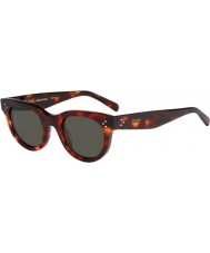Celine Damen cl 41053-s 05d 1e grünen Schildpatt-Sonnenbrille