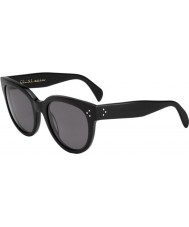 Celine Damen cl 41755 807 3h schwarze Sonnenbrille