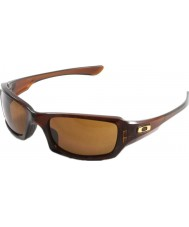 Oakley Oo9238-07 Fünfer squared poliert rootbeer - dunkle Sonnenbrille Bronze