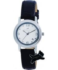 Radley RY2007 Damen Charme schwarzes Lederband Uhr