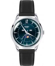 Henry London HL39-LS-0071 Knightsbridge blau schwarz Uhr