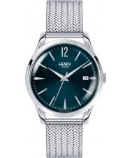 Henry London HL39-M-0029 Damen knights blau silberne Uhr