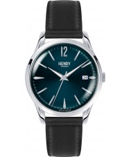 Henry London HL39-S-0031 Knightsbridge blau schwarz Uhr