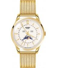 Henry London HL39-LM-0160 Westminster blass Champagner goldene Uhr