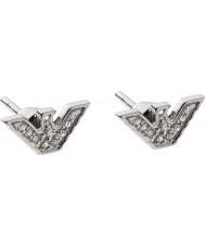 Emporio Armani EG3027040 Damen Sterling-Silber-Ton-Ohrringe