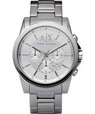Armani Exchange AX2058 Herren Silber Stahl Chronograph Weisekleiduhr