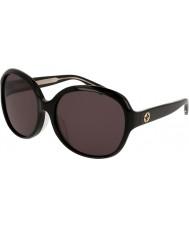 Gucci Damen gg0080sk 001 Sonnenbrillen