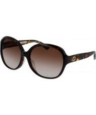 Gucci Damen gg0080sk 003 Sonnenbrillen