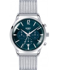 Henry London HL41-CM-0037 Mens knights blau silber Chronograph