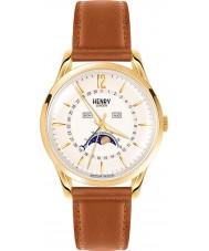 Henry London HL39-LS-0148 Westminster blass Champagner braun Uhr