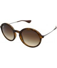 RayBan Rb4222 50 Youngster Gummischildpatt 865-13 Sonnenbrille