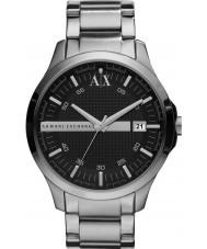 Armani Exchange AX2103 Herren schwarz silbernes Armband Weisekleiduhr
