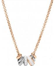 Fossil JF01122998 Damen Klassiker Rotgold Stahl Halskette