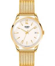 Henry London HL39-M-0008 Damen westminster Mitte Champagner goldene Uhr