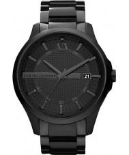 Armani Exchange AX2104 Herren schwarz ip Armband Weisekleiduhr