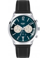 Henry London HL41-CS-0039 Mens knights blau schwarz Chronograph