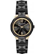 Karl Lagerfeld KL3401 Joleigh schwarze Uhr