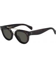 Celine Cl 41043-s 086 1e Sonnenbrille Schildpatt